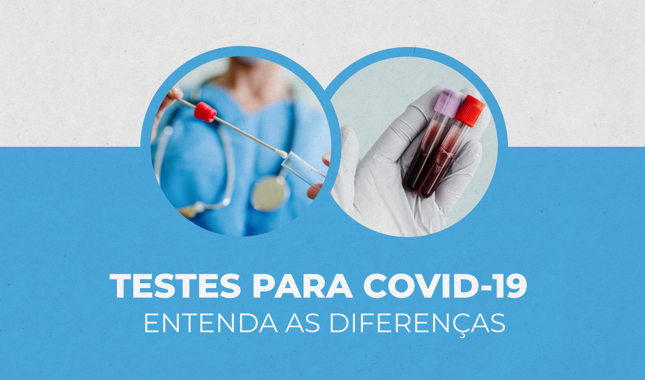 Diferenças de exames COVID-19
